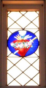 Pierced Sacred Heart Window