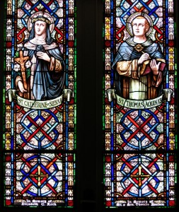 St. Catherine of Sienna and St. Thomas Aquinas