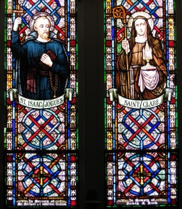 St. Isaac Jogues and St. Clare