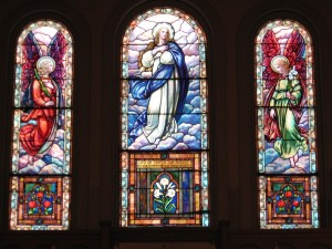 1919 Sacristy Windows of Immaculate Conception