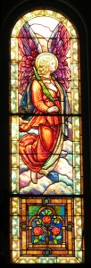 Sacristy Windows Angel a